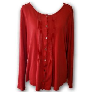 L.L. Bean Red Top